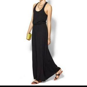Lush Black Maxi Racerback Dress